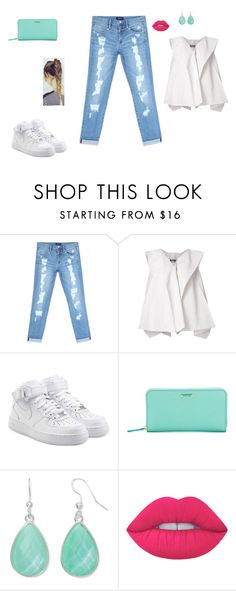 """Untitled #29"" by sara-tadic-1 ❤ liked on Polyvore featuring Bebe, Issey Miyake, NIKE, Fendi, Liz Claiborne and Lime Crime"