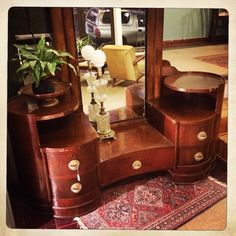 ANOUK offers an eclectic mix of vintage/retro furniture & décor.  Visit us: Instagram: @AnoukFurniture  Facebook: AnoukFurnitureDecor   September 2015 Cape Town, SA. Dressing Table, Decoration, Art Deco, Vanity, Facebook, Furniture, Instagram, Home Decor, Retro Vintage