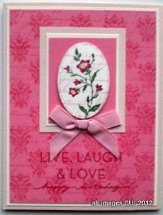 Here are some charming Stampin Up card ideas. How to make three quick and easy cards from one stampin up stamp set.