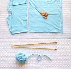 How to make tshirt yarn / 15 situaciones con las que los crafters pueden identificarse