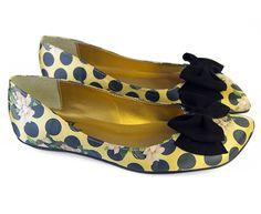 POLKA DOT DIAGONO - Louloux - Sapatos Colecionáveis