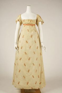 Object Name  Dress  Date  ca. 1810