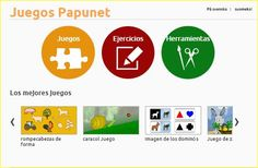 papunet.net  es una Web finlandesa que nos ofrece algunos juegos de atención y razonamiento que podemos configurar en distintos niveles de...