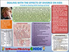 Helping Children of Divorce with their grief.  Repinned by jch counseling, llc