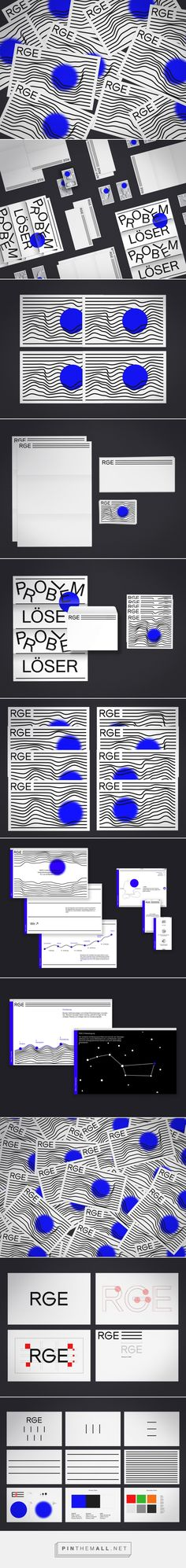 RGE Corporate Identity on Behance - created via https://pinthemall.net