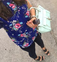 Instagram Round Up | floral tank and skinny jeans | how to style a floral top | floral top outfit | spring style | spring fashion | styling for spring and summer | warm weather fashion | style ideas for spring | fashion tips for spring || The Flexman Flat