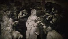 Adoracion de los Magos [Leonardo da Vinci]. En Offret, Sacrificatio [Andrei Tarkovski 1986]