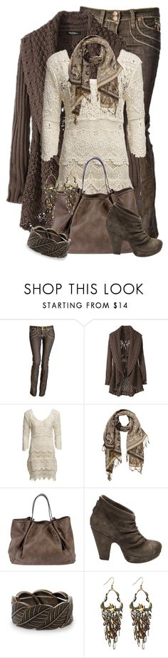 """""""Bootie Love"""" by jackie22 ❤ liked on Polyvore featuring VILA, Borbonese, Fiorentini + Baker, Nelly Accessories, Alexis Bittar, skinny jeans, long cardigans, tunic sweaters, boot cut jeans and shawl cardigan"""