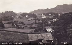 Lokalhistorisk biletsamling i Tysnes: Postkort frå Myklestad