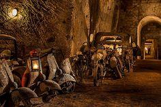 Italy, Naples: Tunnel Borbonico