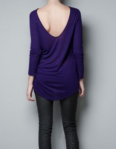 3/4 SLEEVE PLAIN T-SHIRT - T-shirts - Woman - ZARA United States