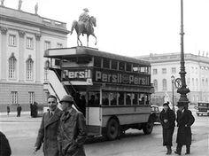 Berlin 1937 Berliner Omnibus Unter den Linden