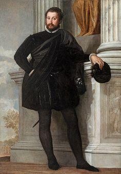 Ritratto di gentiluomo (1576 circa; Los Angeles, Getty Museum)