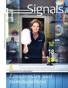 I led the conceptualization workshop for Signals, Haaga-Helia's magazine.