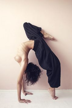 Asana: human form in perfection.