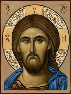 Our Lord Jesus Christ the Pantocrator Religious Images, Religious Icons, Religious Art, The Bible Miniseries, Christ Pantocrator, Spiritual Paintings, Paint Icon, Images Of Mary, Russian Icons