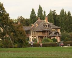 Marie Antoinette's Hamlet. Queen Marie Antoinette had the Hameau (Hamlet) which was a village the King created for her. http://www.francetraveltips.com/marie-antoinettes-petit-trianon-hamlet/