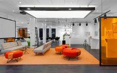 [오피스인테리어/사무실인테리어]화이트&오렌지 경쾌한 오피스인테리어 : 네이버 블로그