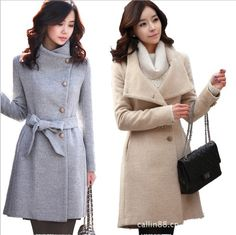 Fashion women OL woolen coat ghl2735 | Coats, Facebook and Fashion ...