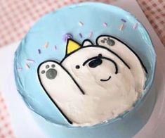 ꒰ 💌 ꒱┊𝑠𝑜𝑚𝑒𝑡𝘩𝑖𝑛𝑔 𝑠𝑝𝑒𝑐𝑖𝑎𝑙 - Cake Decorating Blue Ideen Pretty Birthday Cakes, Pretty Cakes, Beautiful Cakes, 25th Birthday, Amazing Cakes, Birthday Parties, Happy Birthday, Mini Cakes, Cupcake Cakes