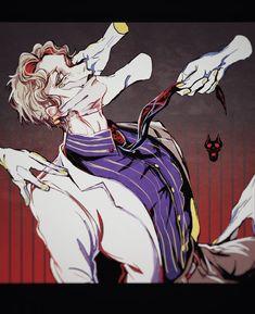Bizarre Art, Jojo Bizarre, Anime Guys, Manga Anime, Yoshikage Kira, Cat Aesthetic, Killer Queen, Jojo Bizzare Adventure, Crowley