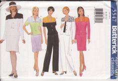 Women's Sewing Pattern Butterick 5547 Very Easy by retrochick66, $6.50