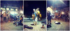 Artisti di strada. Piazzare Parri.