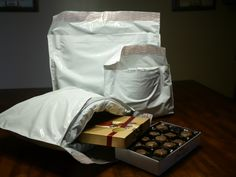 MP Global Thermal Packaging Products Mailers preserve this delicious box of tasty sweets. www.thermomailer.com
