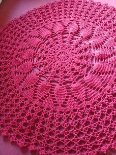Crochet Border Patterns, Baby Knitting Patterns, Crochet Motif, Crochet Doilies, Sewing Patterns, Pineapple Crochet, Crochet Home Decor, Crochet Tablecloth, Crochet Projects