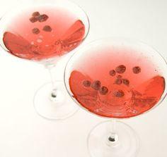 Strawberry Valentine Martinis: Recipe
