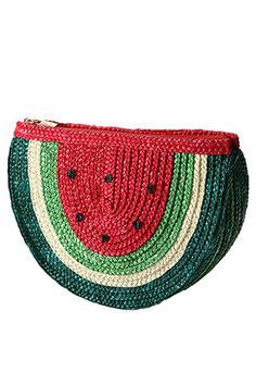 water melon clatch bag