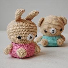 Amigurumi Cute Owl Twins : 1000+ images about Amigurumi on Pinterest Sushi, Avatar ...