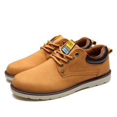 Waterproof Leather Boot Shoe (3 Colors) - Couture Male