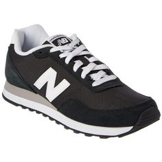 New Balance New Balance Women's 411 Classic Sneaker (400837701) ($60) ❤ liked on Polyvore featuring shoes, sneakers, black, laced shoes, black lace up sneakers, lacing sneakers, lace up sneakers and rubber sole shoes