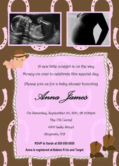 shower invites :)..but for a boy !!