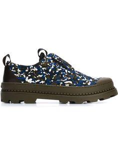 FENDI Granite Print Sneakers. #fendi #shoes #sneakers