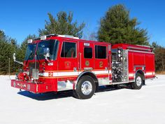 Boston, MA FD Engine 2 KME Severe Service 1250/750 Pumper With Flat Roof.