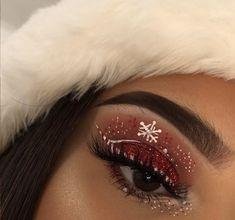 Christmas❄️ Makeup Tutorials, Makeup Ideas, Makeup Tips, Makeup Art, Beauty Makeup, Eye Makeup, Christmas Ideas, Merry Christmas, Xmas
