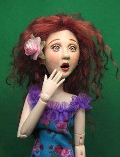 Wildflower Dolls Lulu 6 OOAK Doll Only. by WildflowerDolls on Etsy, $99.95