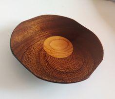 Contenitori - Svuotatasche in legno di mogano e castagno - un prodotto unico di Regali-Artigianali-Da-Devis su DaWanda