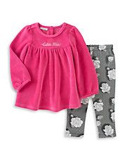 Two-Piece Tunic and Leggings Set
