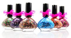 The Lovely Moon Collection - Sailor Moon Inspired nail polish set