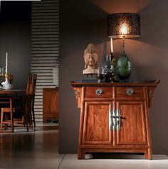 Oriental Chinese Interior Design Asian inspired Foyer Home Decor http://www.interactchina.com/home-furnishings/