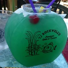 Now this is a fish bowl drink! Yes please!:)