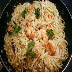 Garlic Shrimp Linguine Recipe