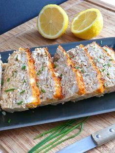 Terrine de poisson pour pique niques et buffets