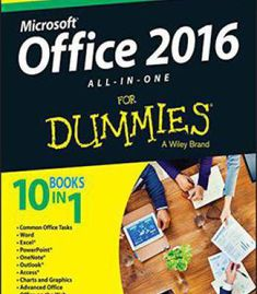 Office 2016 All-In-One For Dummies (Office All-In-One For Dummies) PDF