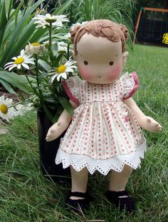 """Alice- 14"""" button jointed baby doll, Dollectable In-stock Store"""