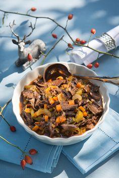 "Ragout ""Wildschütz"" Dinner For One, Wilde, Japchae, Autumn, Ethnic Recipes, Food, Recipes, Venison Recipes, Common Pheasant"