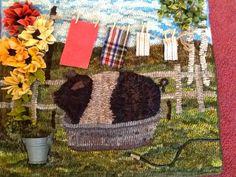 Ali Strebel: Western Reserve Rug Hooking Guild